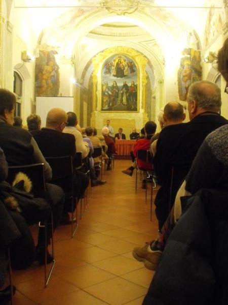 """""""Proposte per Bologna"""", 6 dicembre 2008, Baraccano con Enrico Letta e Andrea De Maria"""