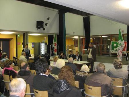 """Incontro al Centro Lame """"Parliamo del futuro della nostra città"""", 2 dicembre 2008"""